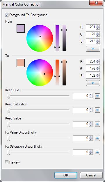 Paint Net Color Correction Plugin